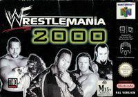 Portada oficial de WWF Wrestlemania 2000 para Nintendo 64