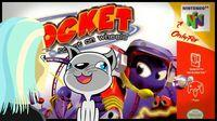 Portada oficial de Rocket: Robots on Wheels para Nintendo 64