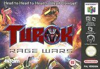 Portada oficial de Turok: Rage Wars para Nintendo 64