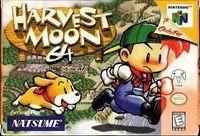 Portada oficial de Harvest Moon para Nintendo 64