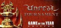 Portada oficial de Unreal Tournament (2000) para PC