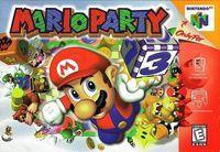 Portada oficial de Mario Party para Nintendo 64
