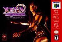 Portada oficial de Xena: The Talisman of Fate para Nintendo 64