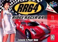 Portada oficial de Ridge Racer 64 para Nintendo 64