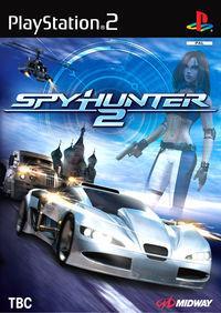 Portada oficial de Spy Hunter 2 para PS2