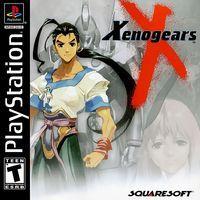 Portada oficial de Xenogears para PS One