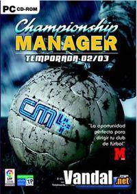 Portada oficial de Championship Manager 4 para PC