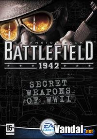Portada oficial de Battlefield 1942: Secret Weapons of WWII para PC