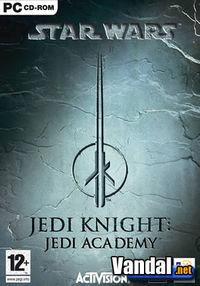 Portada oficial de Star Wars Jedi Knight 3: Jedi Academy para PC