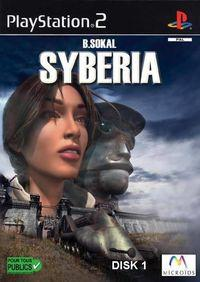 Portada oficial de Syberia para PS2