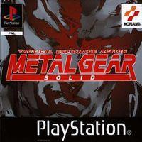 Portada oficial de Metal Gear Solid para PS One