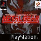 Portada oficial de de Metal Gear Solid para PS One