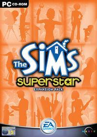 Portada oficial de Los Sims Superstars para PC