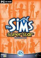 Portada oficial de de Los Sims Superstars para PC