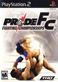 Portada oficial de Pride FC para PS2