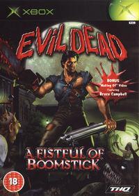 Portada oficial de Evil Dead: A Fistful of Boomstick para Xbox