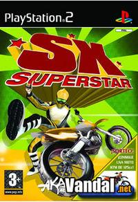 Portada oficial de SX Superstar para PS2