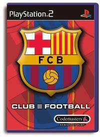 Portada oficial de F.C. Barcelona: Club Football para PS2