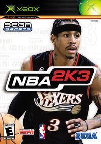 Portada oficial de NBA 2K3 para Xbox