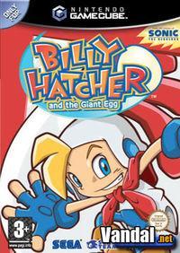 Portada oficial de Billy Hatcher and the Giant Egg para GameCube