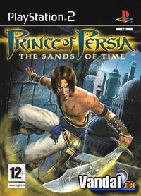 Portada oficial de Prince of Persia: The Sands of Time para PS2