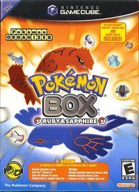 Portada oficial de Pokémon Box: Rubí & Zafiro para GameCube