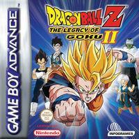 Portada oficial de Dragon Ball Z: Legacy of Goku 2 para Game Boy Advance
