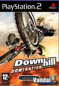 Portada oficial de Downhill Domination para PS2