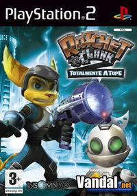 Portada oficial de Ratchet & Clank: Totalmente a Tope para PS2