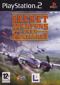 Portada oficial de Secret Weapons Over Normandy para PS2