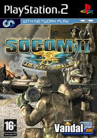 Portada oficial de Socom 2: US Navy Seals para PS2
