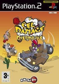Portada oficial de Cel Damage Override para PS2