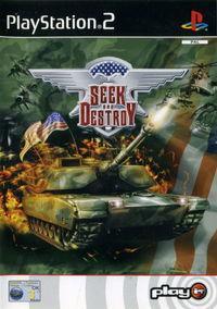 Portada oficial de Seek and Destroy para PS2