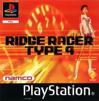 Portada oficial de Ridge Racer Type 4 para PS One