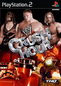 Portada oficial de WWE Crush Hour para PS2