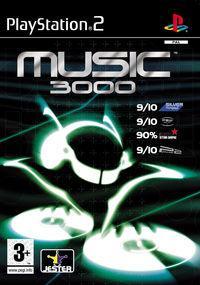 Portada oficial de Music 3000 para PS2