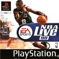 Portada oficial de Nba Live 99 para PS One