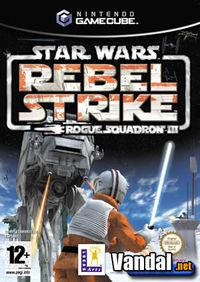 Portada oficial de Star Wars Rogue Squadron 3: Rebel Strike para GameCube