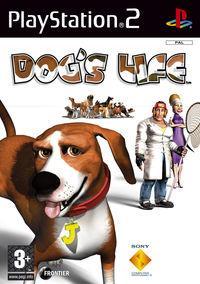 Portada oficial de Dog's Life para PS2