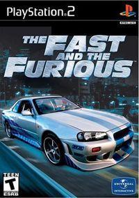 Portada oficial de The Fast and the Furious para PS2