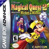 Portada oficial de Disney's Magical Quest 2 Starring Mickey & Minnie para Game Boy Advance