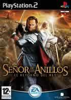 Portada oficial de de El Señor de los Anillos: El Retorno del Rey para PS2