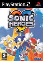 Portada oficial de de Sonic Heroes para PS2
