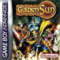Portada oficial de Golden Sun para Game Boy Advance