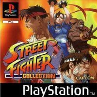 Portada oficial de Street Fighter Collection para PS One