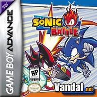 Portada oficial de Sonic Battle para Game Boy Advance