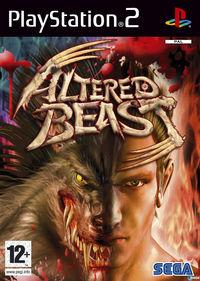 Portada oficial de Altered Beast para PS2