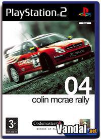 Portada oficial de Colin McRae Rally 04 para PS2