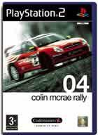 Portada oficial de de Colin McRae Rally 04 para PS2