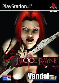 Portada oficial de BloodRayne para PS2